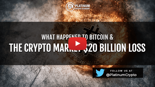 What Happened to Bitcoin & The Crypto Markets $20 Billion Loss
