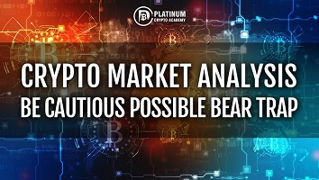 Crypto Market Analysis – Be Cautious Possible Bear Trap