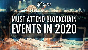 Must attend blockchain events in 2020