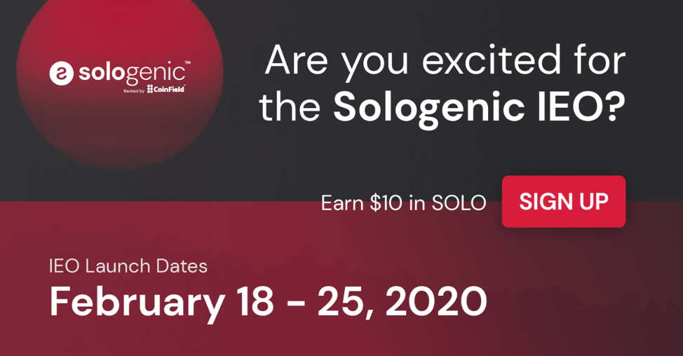 Are you excited for the Sologenic IEO?