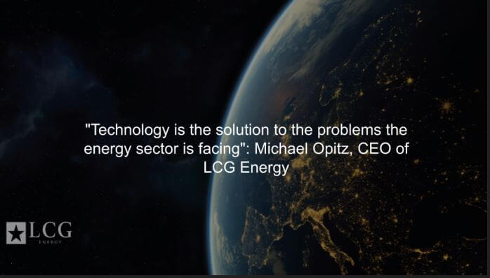 Technology is the solution to the problems the energy sector is facing