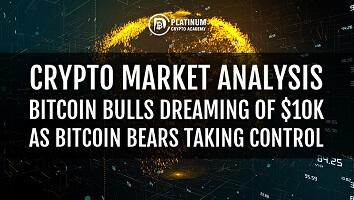 Crypto Market Analysis – Bitcoin Bulls Dreaming Of $10k as Bitcoin Bears Taking Control