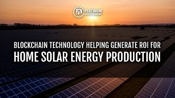 Blockchain Technology Helping Generate ROI For UK Home Solar Panel Energy Production