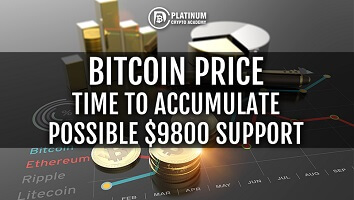 Bitcoin Price – Time To Accumulate Possible $9800 Support!
